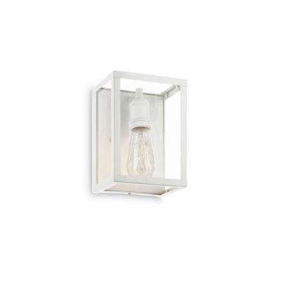 IDEAL LUX IGOR fali lámpa E27 foglalattal, max. 60W, 17x23 cm, fehér 149684