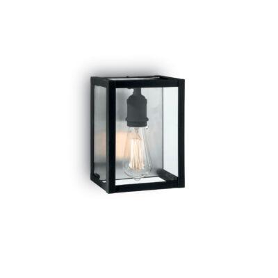 IDEAL LUX IGOR fali lámpa E27 foglalattal, max. 60W, 17x23 cm, fekete 92836