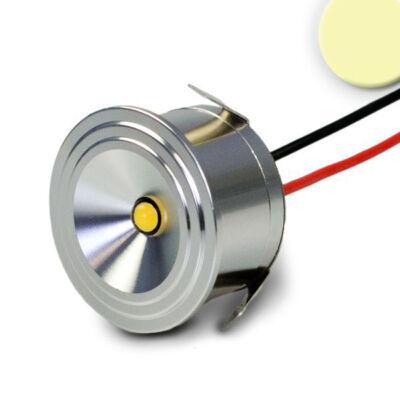Süllyeszthető bútorvílágító LED spot, 3W, 160 lm, 3000K meleg fehér, 12V