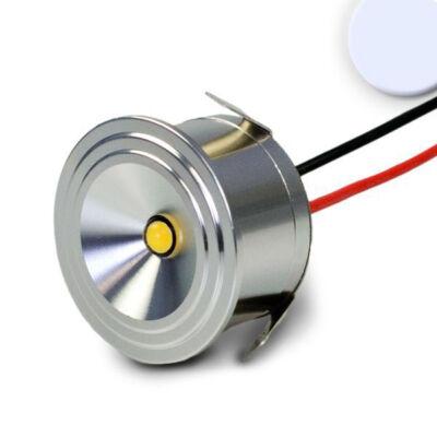 Süllyeszthető bútorvílágító LED spot, 3W, 170 lm, 6000K hideg fehér, 12V