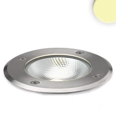 IP67 LED taposható talajba süllyetsztett lámpa, kör, 3000K, 6W COB LED, 230V