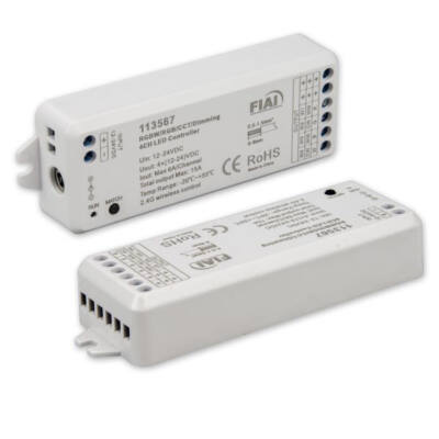 SysCon rádiós vevőegység, 4 csatorna, max, 15A, 12-24VDC