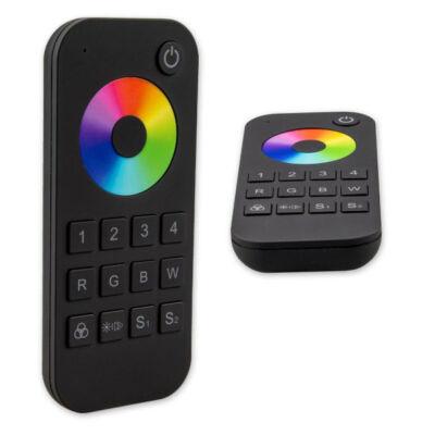 SysCon 4 zónás távvezérlő, RGBW LED szalagokhoz, fekete