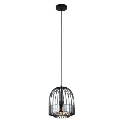 ITALUX ARIES 1 ágú függeszték fekete, E27, IT-MDM-2724/1L B BK