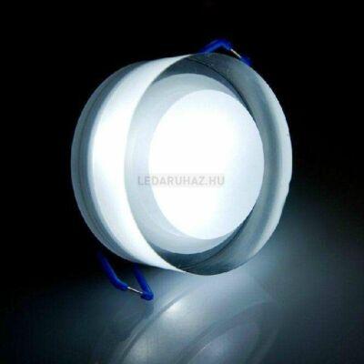 Ledium Crystallo süllyesztett LED lámpa, kör, 3W, 12V, 387 lm, 5000K hidegfehér