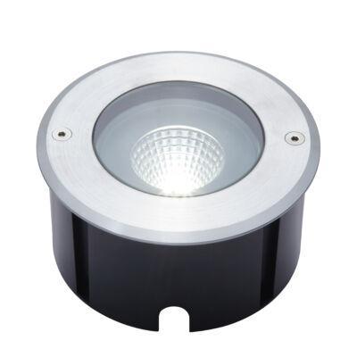 LUTEC Denver kültéri talajba süllyeszthető lámpa, 12W, 1030 lm, 4000K természetes fehér, IP67, alumínium, LUTEC-7704801012, 7704801012