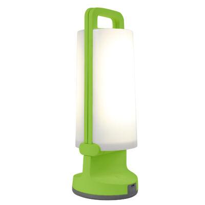 LUTEC Dragonfly szolár hordozható asztali lámpa, 1,2W, 120 lm, 4000K természetes fehér, IP54, zöld, LUTEC-6904101339, P9041 grn