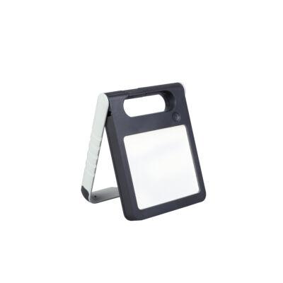 LUTEC Padlight szolár hordozható asztali lámpa, 4W, 200 lm, 4000K természetes fehér, IP44, fehér, LUTEC-6907701331, P9077 wh