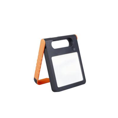 LUTEC Padlight szolár hordozható asztali lámpa, 4W, 200 lm, 4000K természetes fehér, IP44, narancs, LUTEC-6907701340, P9077 or