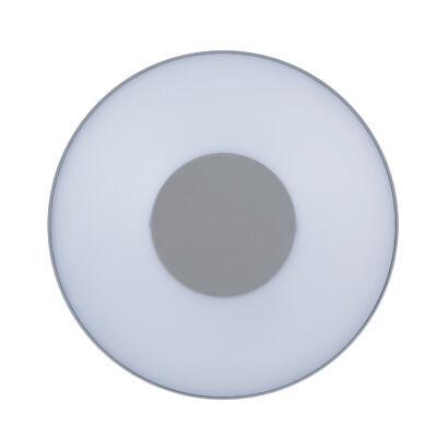 LUTEC Ublo kültéri falra, mennyezetre szerelhető lámpa, 6,3W, 280 lm, 3000K melegfehér, IP54, szürke, LUTEC-6348102112, 3481S-3K si
