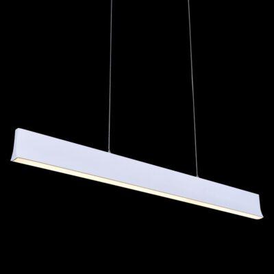 LUXERA OBLO 1 ágú függeszték fehér, 4000K természetes fehér, beépített LED, 1800 lm, 18414