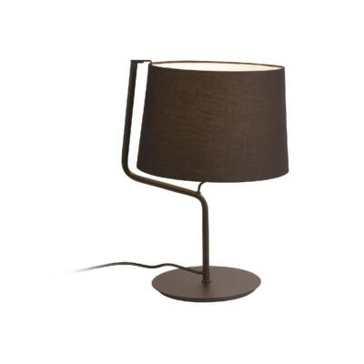 MAXLIGHT CHICAGO asztali lámpa fekete, E27, MAXLIGHT-T0029