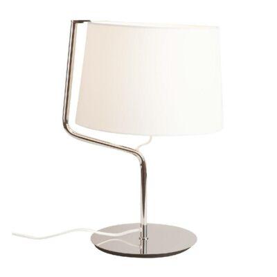 MAXLIGHT CHICAGO asztali lámpa króm, E27, MAXLIGHT-T0030