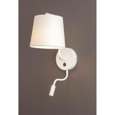 MAXLIGHT CHICAGO fali lámpa fehér, E27,LED, MAXLIGHT-W0196