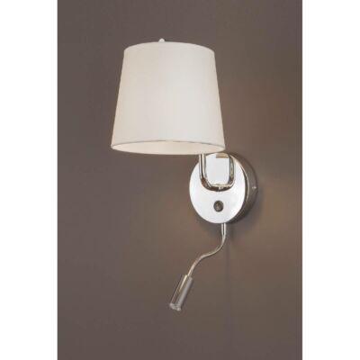 MAXLIGHT CHICAGO fali lámpa króm, E27,LED, MAXLIGHT-W0198