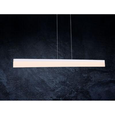 MAXLIGHT RAPID 1 ágú függeszték fehér, 3000K melegfehér, beépített LED, 1120 lm, MAXLIGHT-P0154