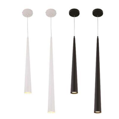MAXLIGHT SLIM 1 ágú függeszték fehér, GU10, MAXLIGHT-P0001