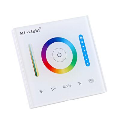 Mi-Light P3 Smart Panel RGB/ RGBW/ RGB+CCT fali vezérlő, 12V-24V, 86x86 mm