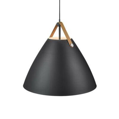 NORDLUX Strap 68 1 ágú függeszték, fekete, E27, 68cm átmérő, 84363003