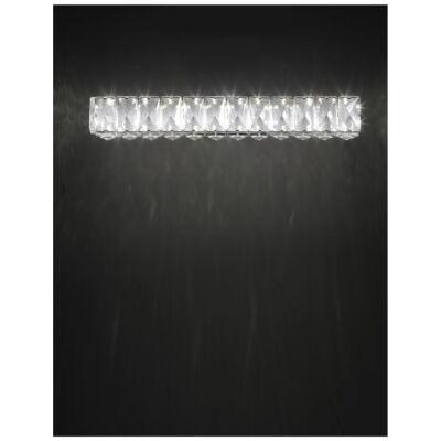 Nova Luce Corona LED fali lámpa, 40 cm, króm, 3000K melegfehér, NLC-83399202