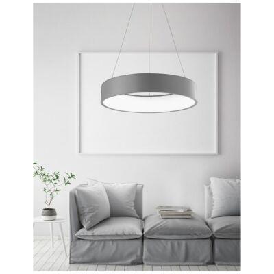 Nova Luce Rando LED függeszték, 60 cm, szürke, 4000K természetes fehér, NLC-6167204