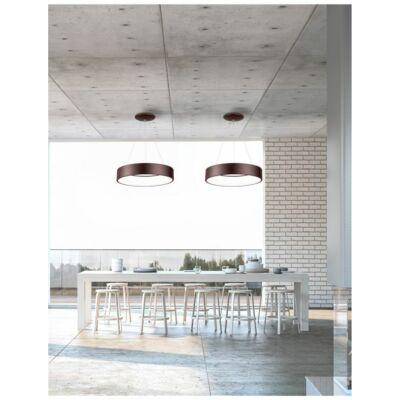 Nova Luce Rando LED függesztett lámpa, 60 cm, barna, 3000K melegfehér, NLC-6167209
