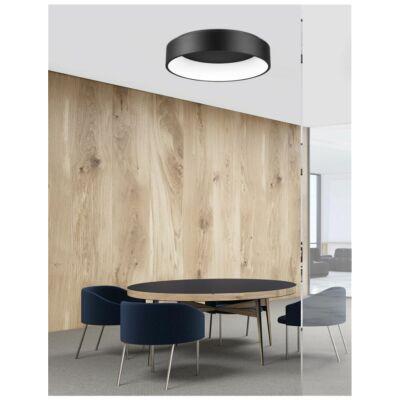 Nova Luce Rando LED mennyezeti lámpa, 60 cm, fekete, 3000K melegfehér, NLC-6167240