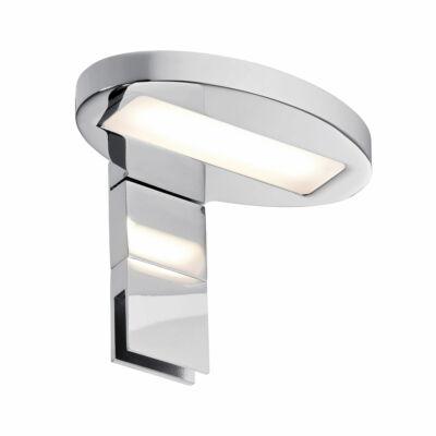 Paulmann 990.88 Oval fali lámpa, tükörmegvilágító, króm, 2700K melegfehér, 378 lm, IP44
