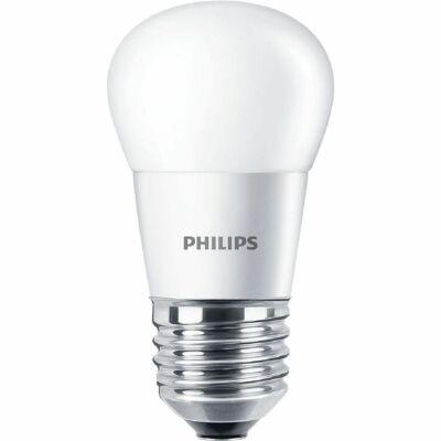 Philips CorePro 4W E27 LED kis gömb, 250 lm, 2700K melegfehér 929001157602 - 929001157602