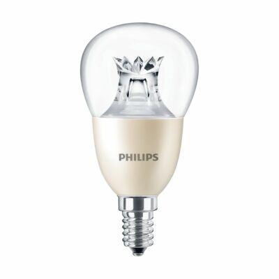 Philips MASTER 8W E14 LED kis gömb, 806 lm, 2700-2200 K (Dimtone), fényerőszabályozható - 929001211902