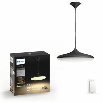 Philips Hue Cher függesztett LED lámpa, fekete, 39W, 3000 lm, 4000K, 2200K-6500K + DimSwitch, 40761/30/P7