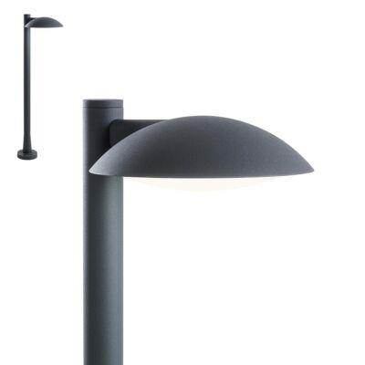 REDO CAPP kültéri állólámpa szürke, 3000K melegfehér, beépített LED, 824 lm, REDO-9619