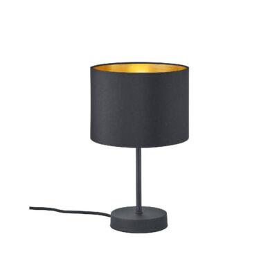 TRIO HOSTEL asztali lámpa fekete, E27, TRIO-508200179