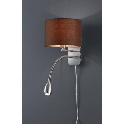 TRIO HOTEL fali lámpa barna, E14, TRIO-271170214