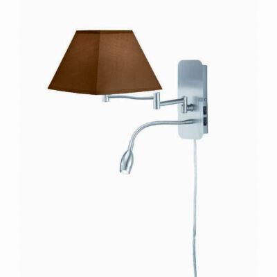 TRIO HOTEL fali lámpa barna, E14, TRIO-271370214