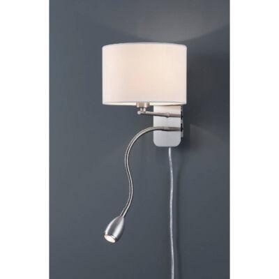 TRIO HOTEL fali lámpa fehér, E14, TRIO-271170201