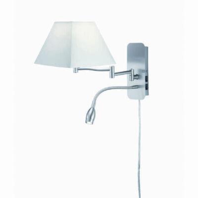TRIO HOTEL fali lámpa fehér, E14, TRIO-271370201