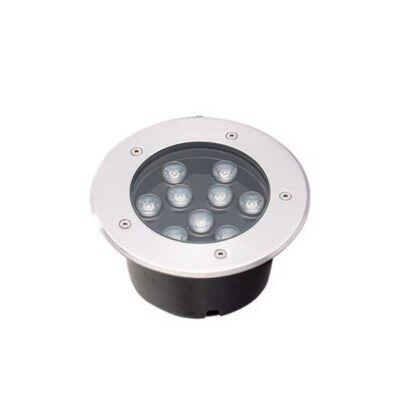 Viokef LOTUS lépésálló lámpa ezüst, 3200K melegfehér, beépített LED, 990 lm, VIO-4187000
