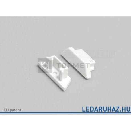 Topmet Arc12 LED profil végzáró C előlaphoz, fehér - B2970001