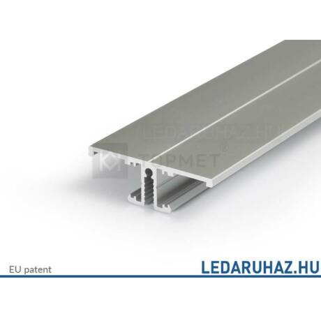 Topmet Back10 alumínium exkluzív fali LED profil, ezüst eloxált (előlap: A) - 90030020 - 2m