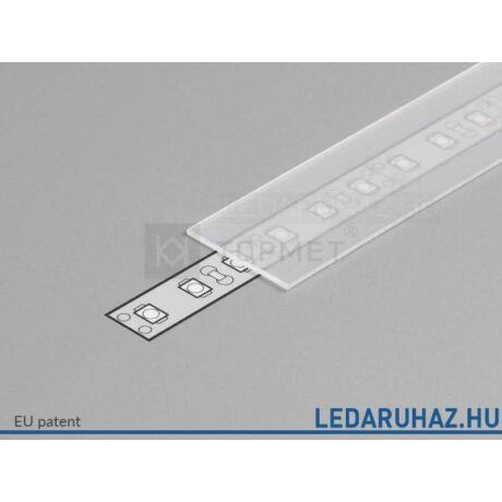 Topmet LED profil előlap E szatén - A2040039 - 2m