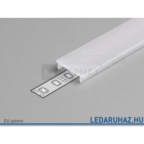 Topmet LED profil előlap F opál - A2060038 - 2m