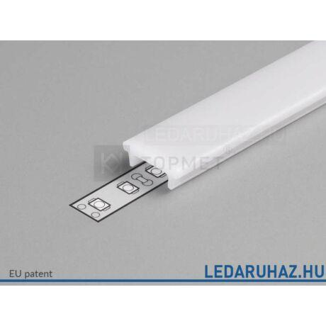 Topmet LED profil előlap K opál - B1040038 - 2m