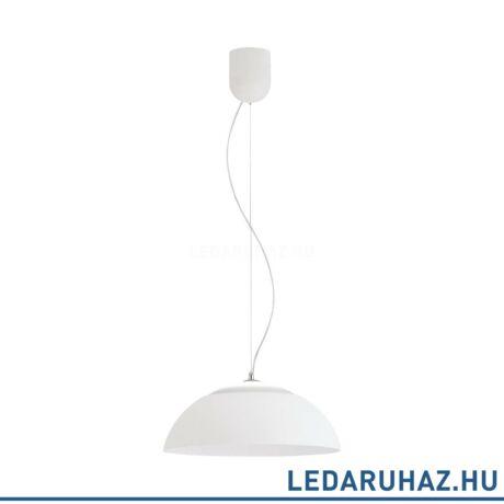 EGLO 39288 MARGHERA függesztett LED lámpa 44,5 cm átmérő, fehér, beépített LED, 27,7W, 3000K melegfehérfehér, 3200 lm, fényerőszabályozható
