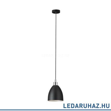 EGLO 39487 MAREPERLA függesztett lámpa, 18 cm átmérő, fekete, 1 db. E27 foglalattal, max. 1x60W