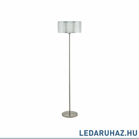 EGLO 49168 LEAMINGTON 1 Króm állólámpa, E27 foglalattal, 151cm magas, 1x60W