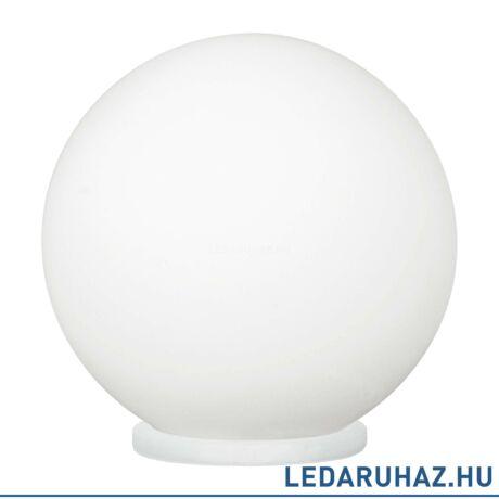 EGLO 85264 RONDO Asztali lámpa opál üvegbúrával 20 cm átmérő, 20 cm magas, E27