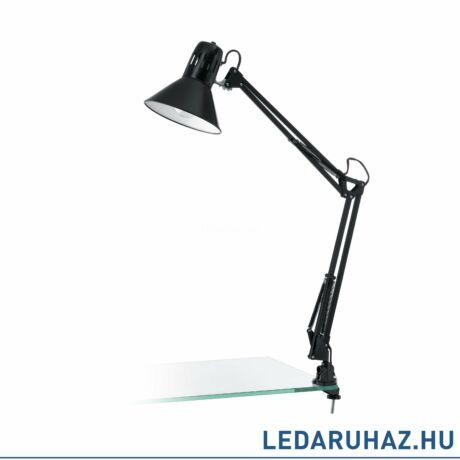 EGLO 90873 FIRMO fekete, asztali lámpa, asztalra szerelhető, 73cm, E27 foglalattal