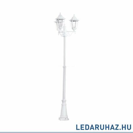 EGLO 93454 NAVEDO kültéri állólámpa, fehér + ajándék LED fényforrás