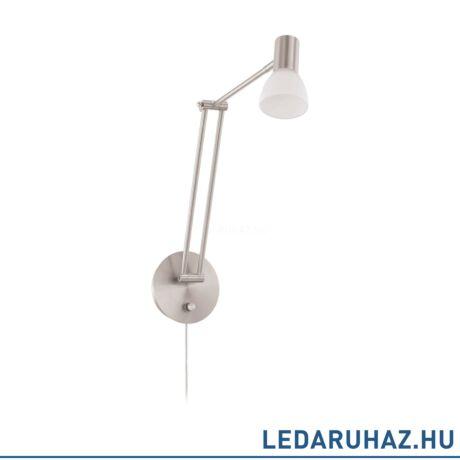 EGLO 94149 FALKO 1 Matt nikkel LED falikar, 5W, 300K melegfehér, 480 lm
